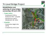 tri level bridge project