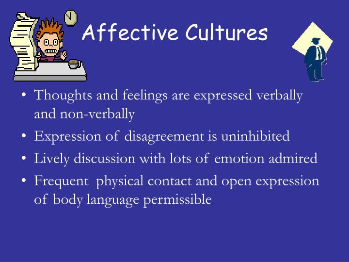 Affective Cultures