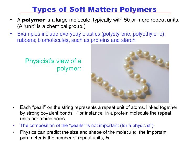 Physicist's view of a polymer: