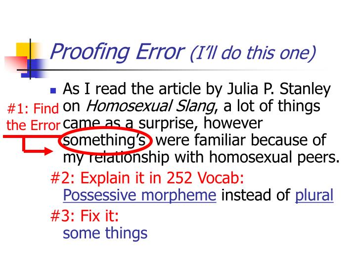 Proofing error i ll do this one