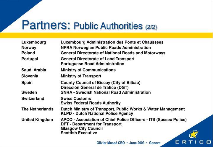 Partners: