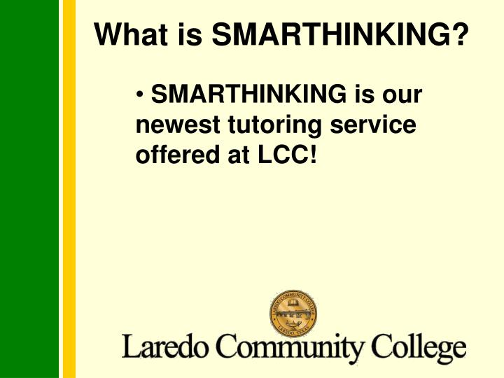 What is smarthinking