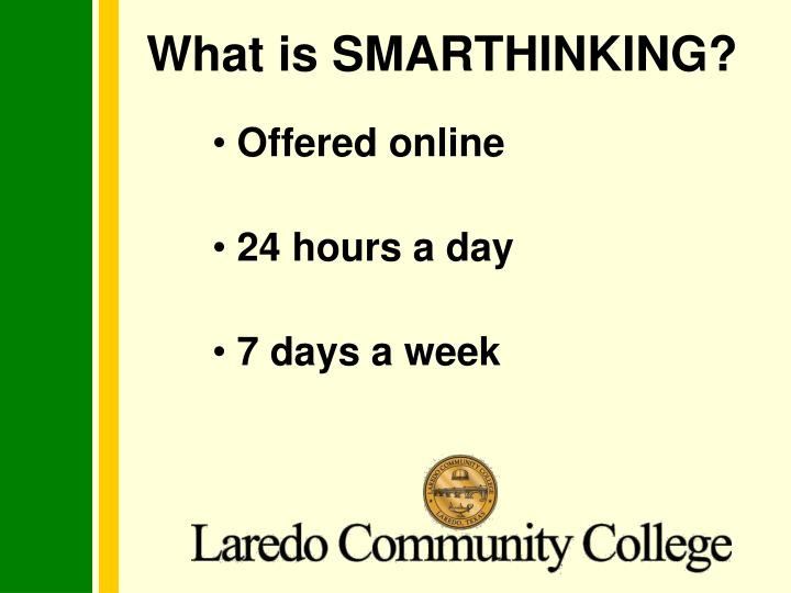 What is smarthinking1