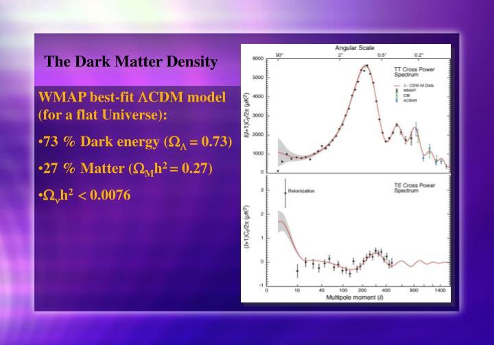 The Dark Matter Density