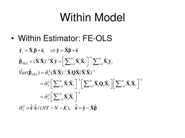 Within Model