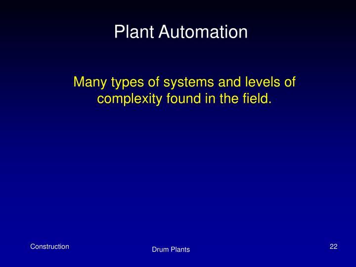 Plant Automation