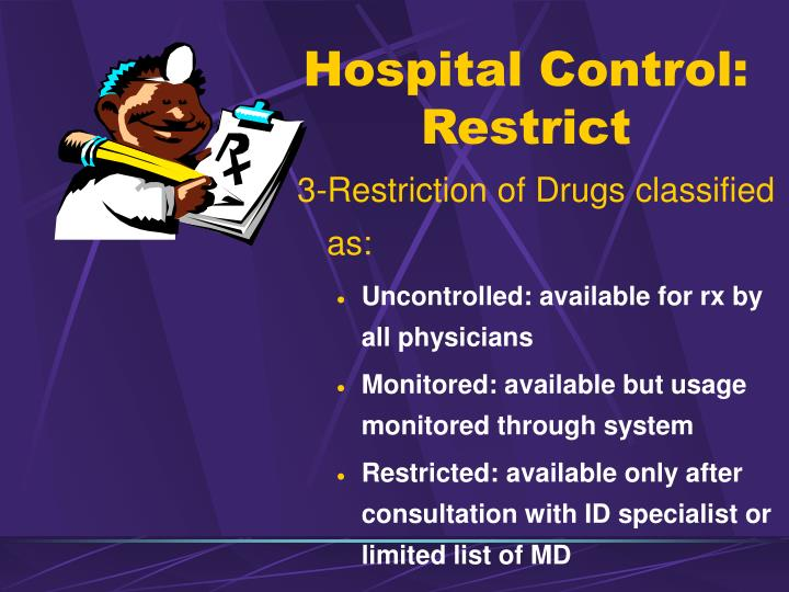 Hospital Control: Restrict