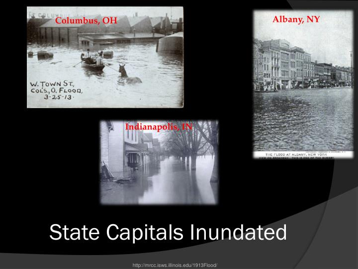 State Capitals Inundated