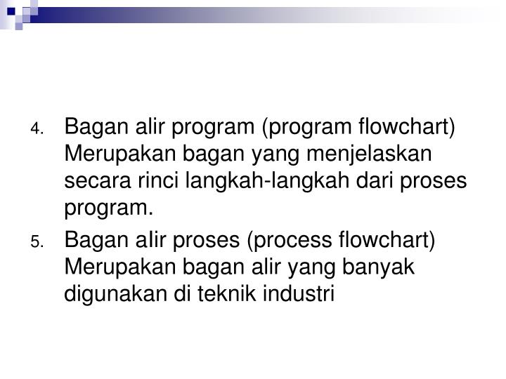 Bagan alir program (program flowchart)
