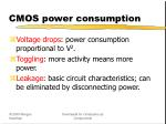 cmos power consumption