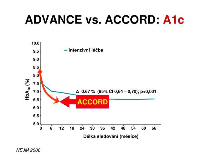 ADVANCE vs. ACCORD: