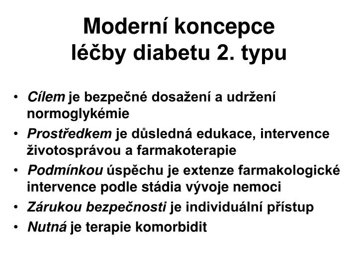 Moderní koncepce