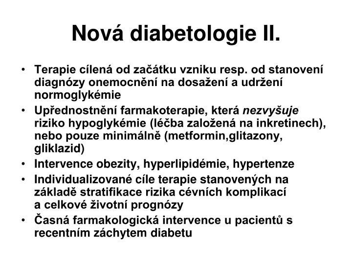 Nová diabetologie II.