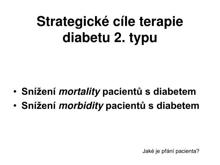 Strategické cíle terapie