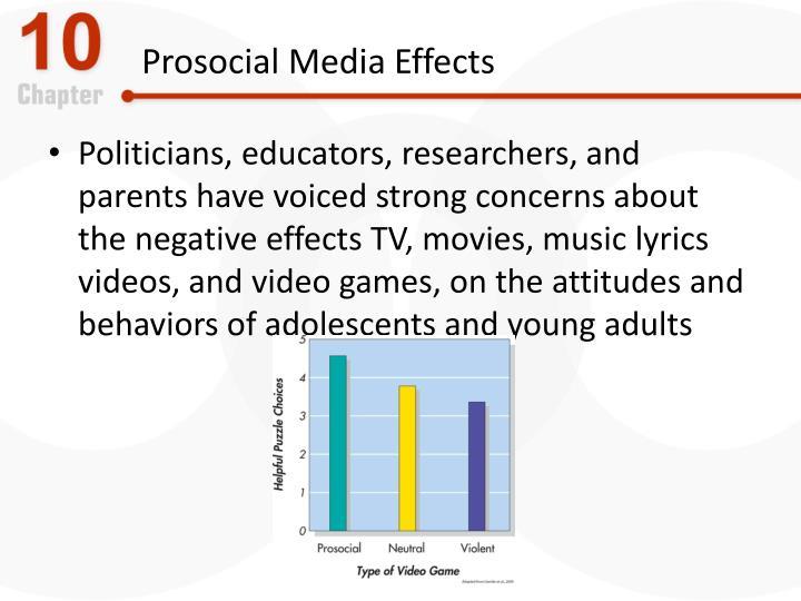 Prosocial Media Effects