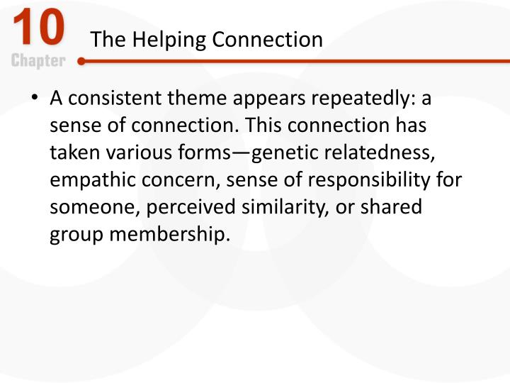 The Helping Connection