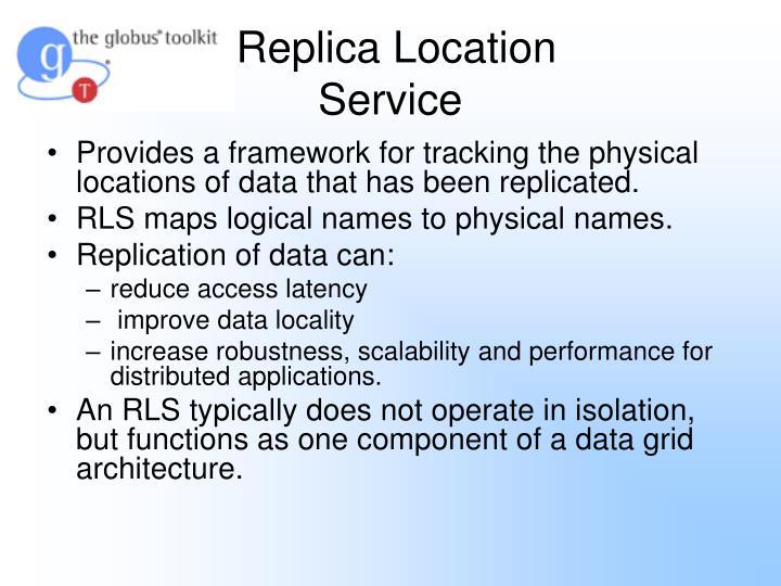 Replica Location