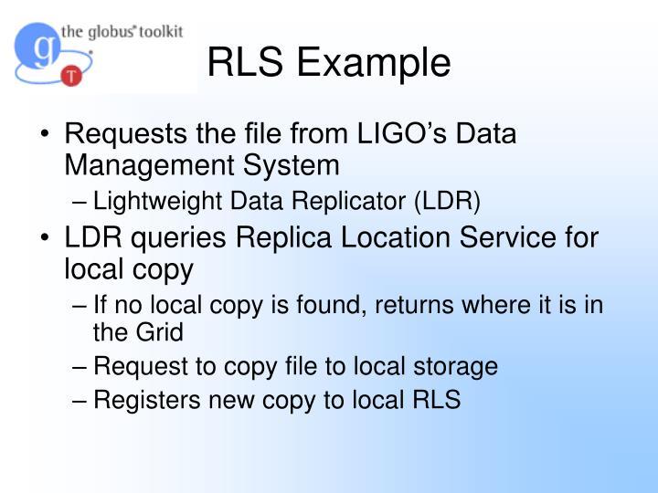 RLS Example