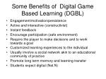 some benefits of digital game based learning dgbl