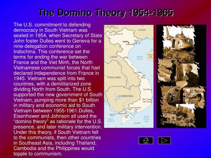 The Domino Theory 1954-1965