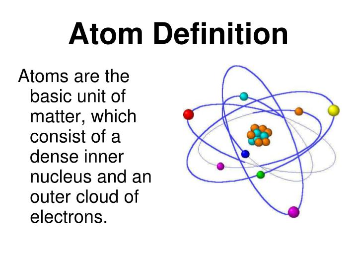 Atom Definition