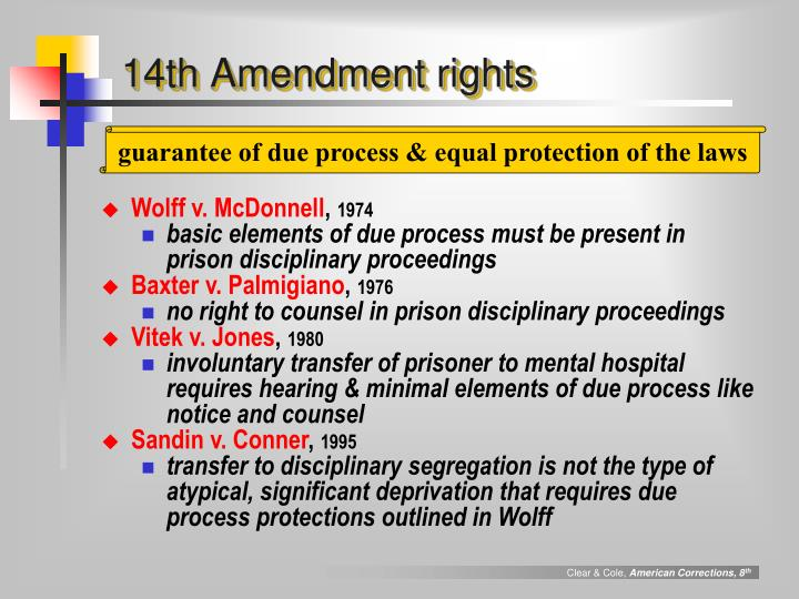 14th Amendment rights