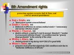 8th amendment rights