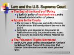 law and the u s supreme court