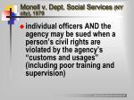 monell v dept social services ny city 1979