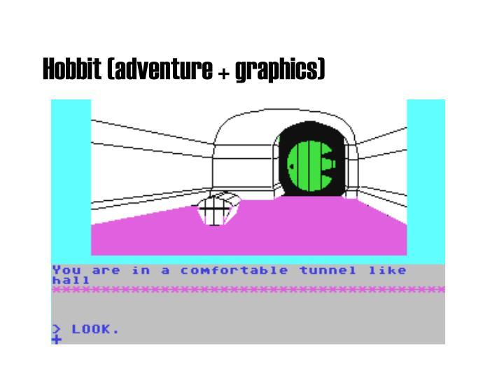 Hobbit (adventure + graphics)