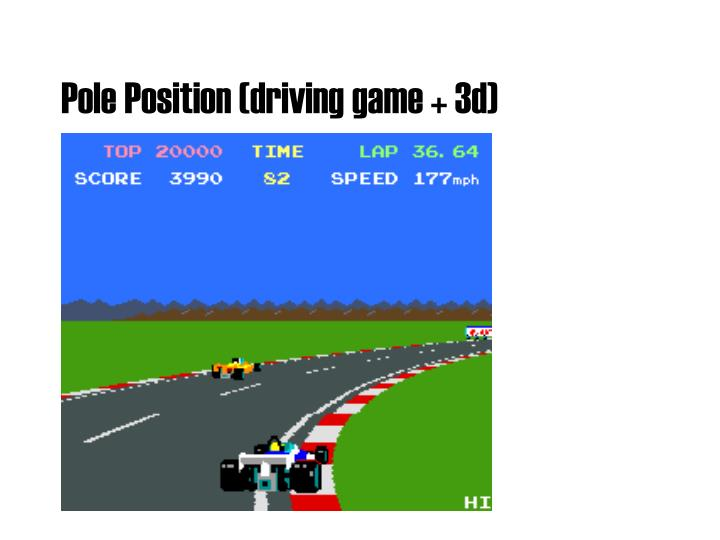 Pole Position (driving game + 3d)