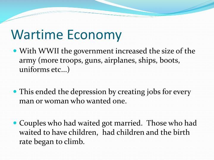 Wartime Economy