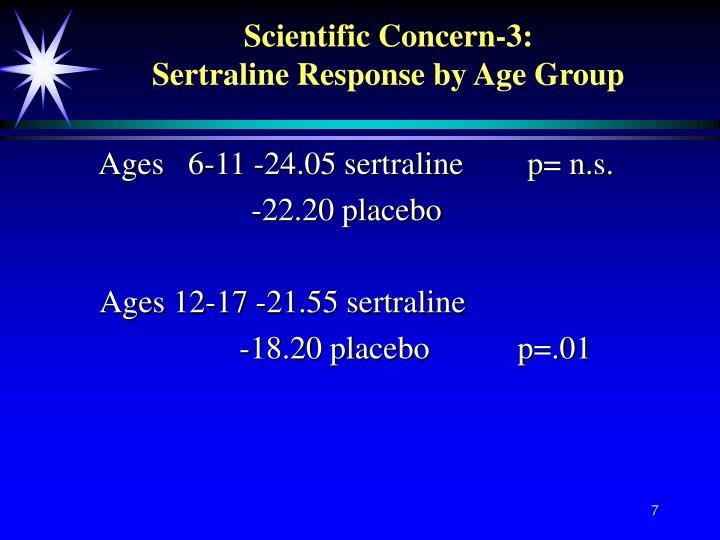 Scientific Concern-3: