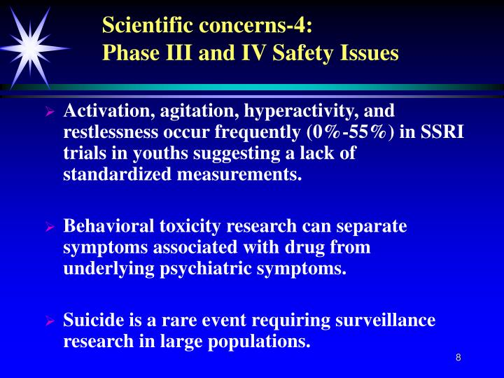 Scientific concerns-4: