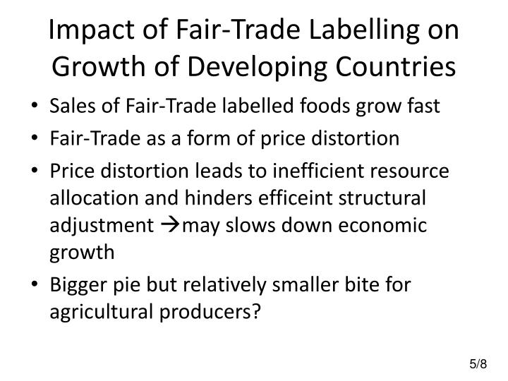 Impact of Fair-Trade Labelling on Growth of Developing Countries
