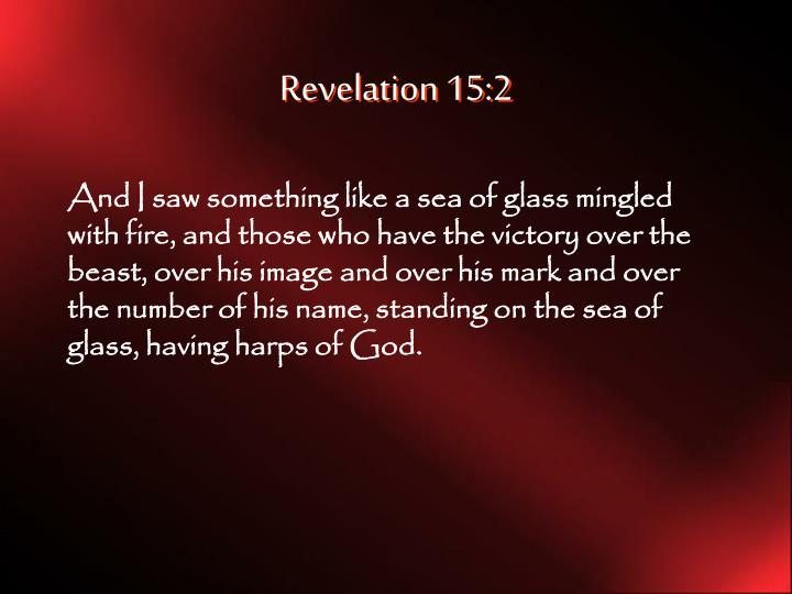 Revelation 15:2