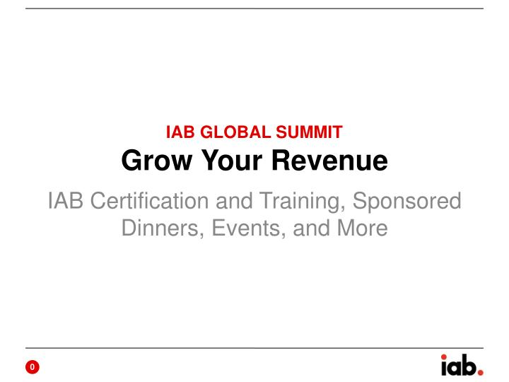 Grow your revenue
