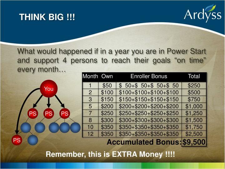 THINK BIG !!!