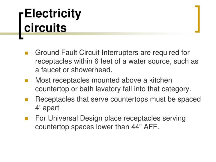 Countertop Microwave Dedicated Circuit : PPT - ELECTRICITY PowerPoint Presentation - ID:1709571