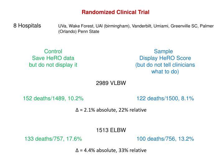Randomized Clinical Trial