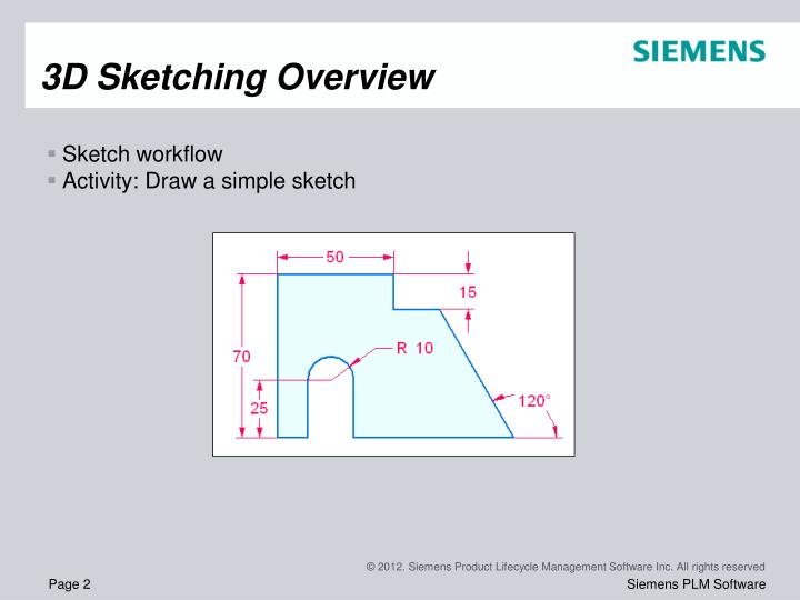 3d sketching overview