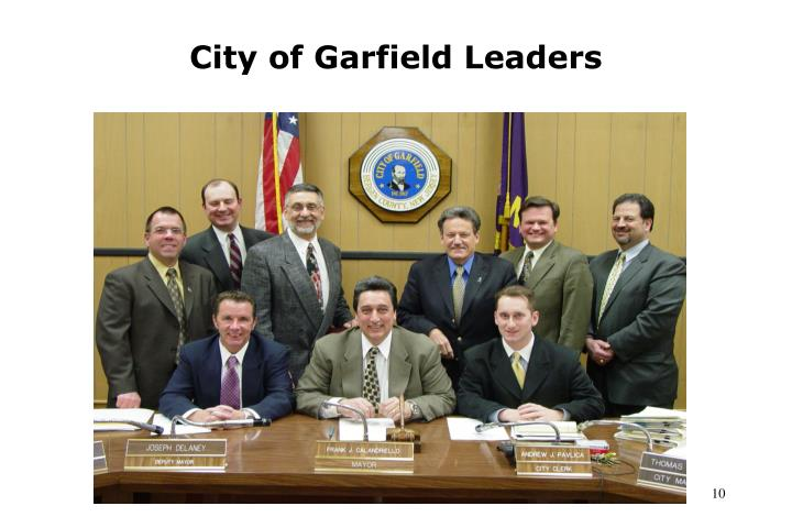 City of Garfield Leaders