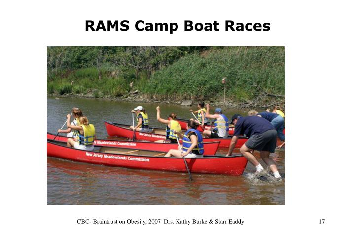 RAMS Camp Boat Races