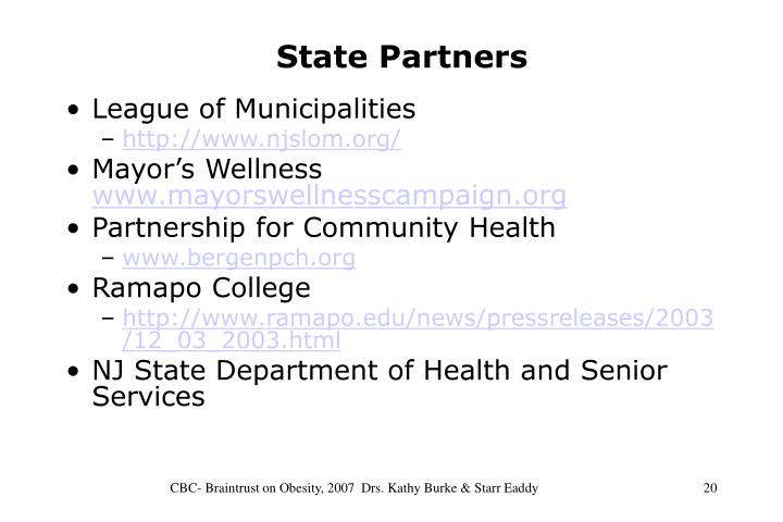 State Partners