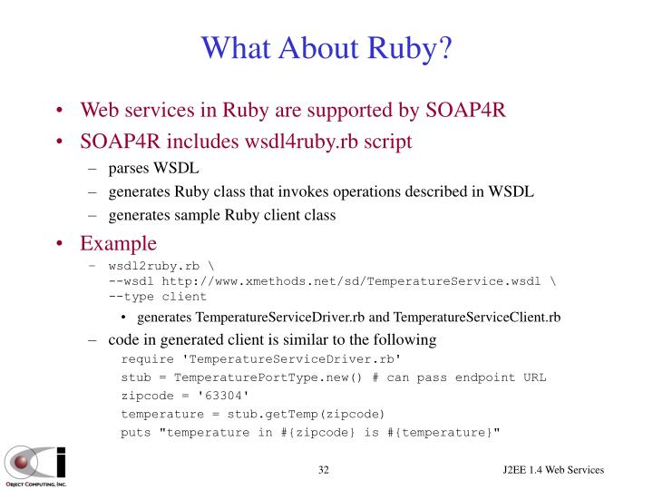 What About Ruby?