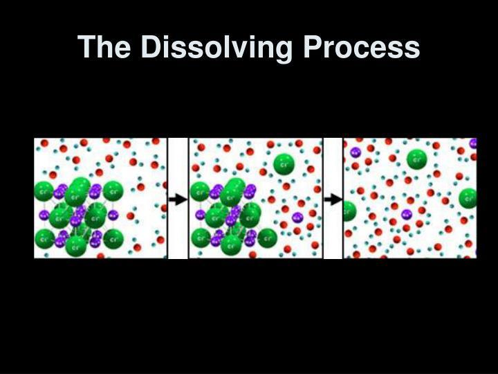 The Dissolving Process