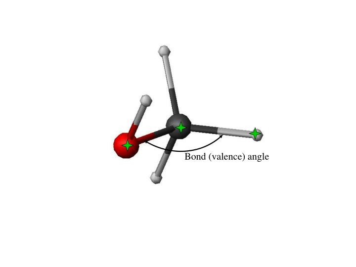 Bond (valence) angle