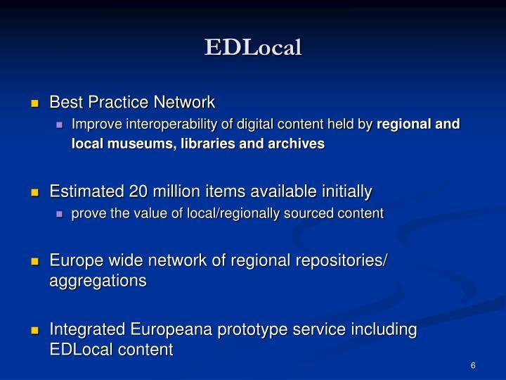 EDLocal