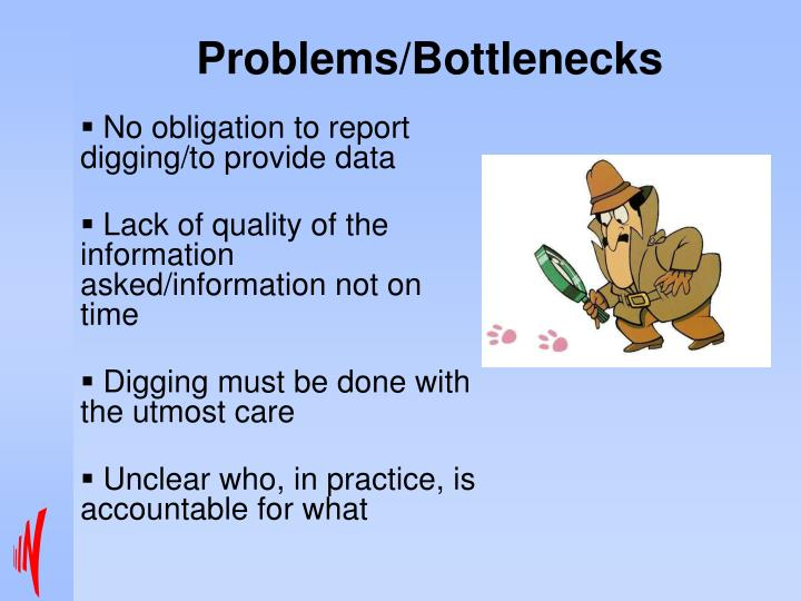 Problems/Bottlenecks