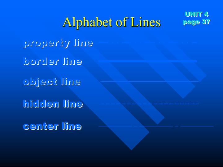 property line